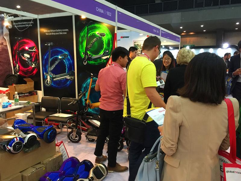 Giantplus attending October,2017 Globalsource HK Electronics Fair