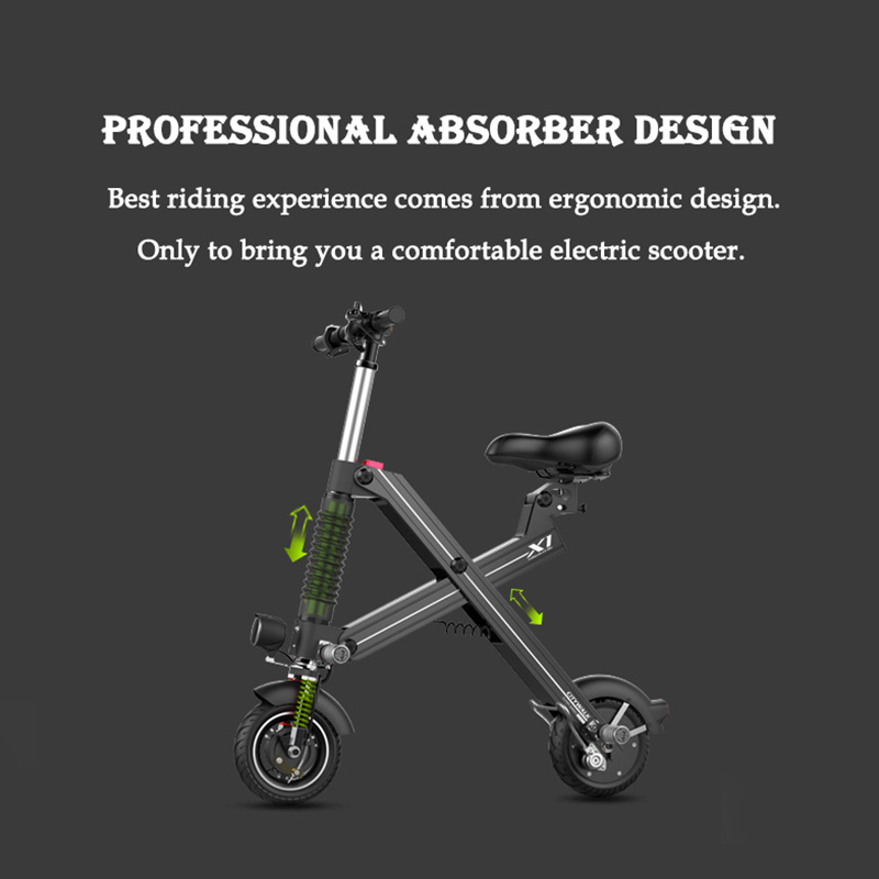 Giantplus-Find Battery power X1 folding electric scooter On Giantplus-9