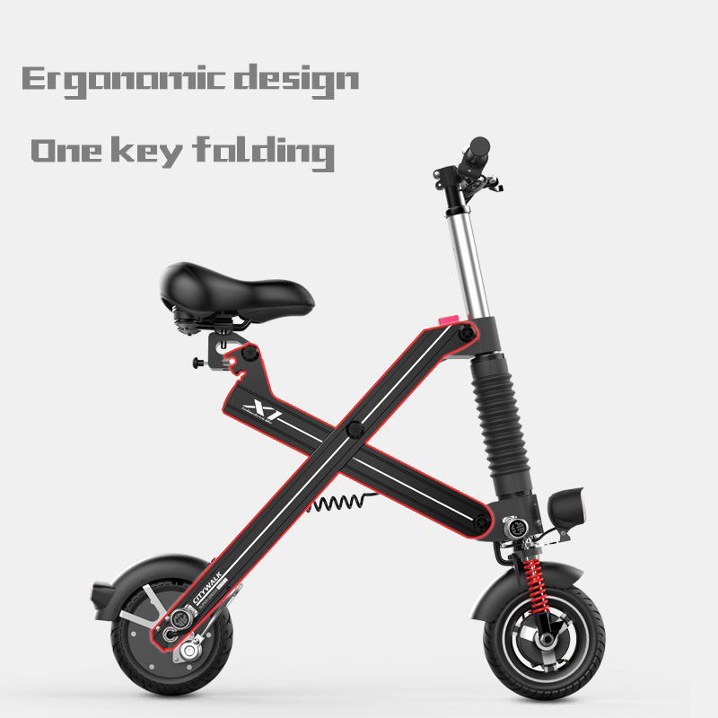 Giantplus-Find Battery power X1 folding electric scooter On Giantplus-20
