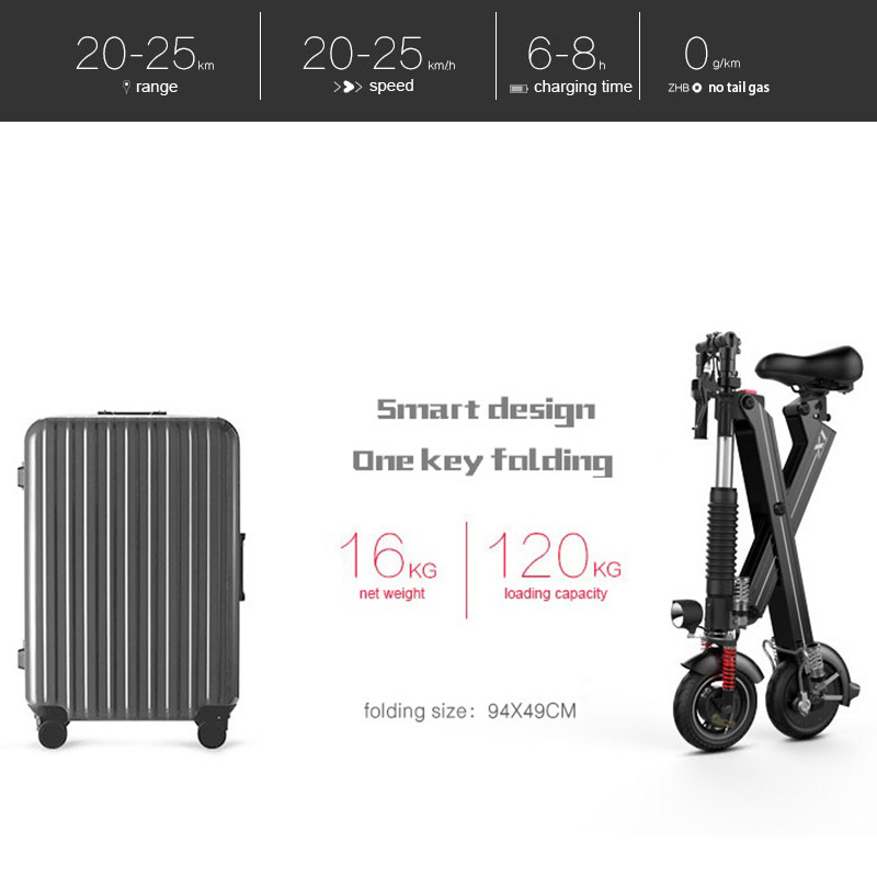 Giantplus-Find Battery power X1 folding electric scooter On Giantplus-15