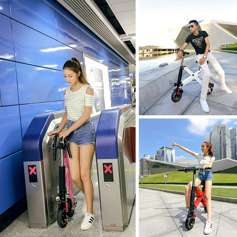 Giantplus-Find Battery power X1 folding electric scooter On Giantplus-27