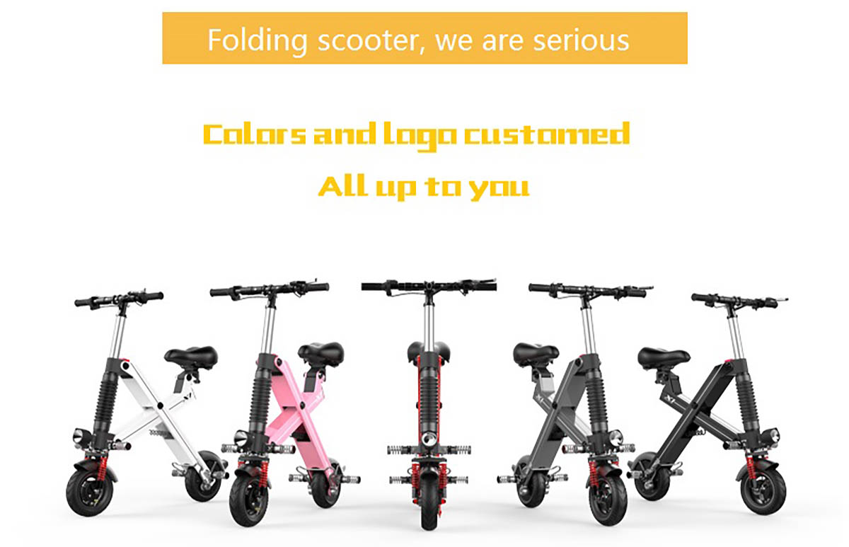 Giantplus-Find Battery power X1 folding electric scooter On Giantplus