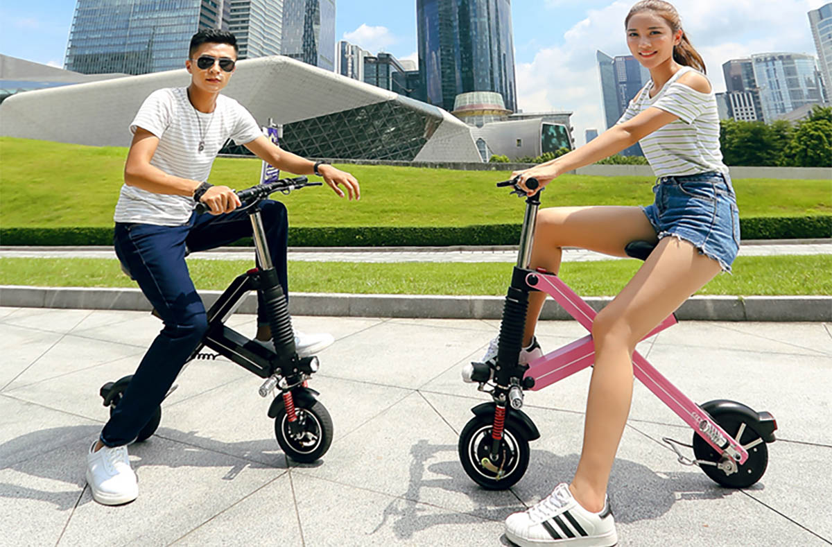 Giantplus-Find Battery power X1 folding electric scooter On Giantplus-1