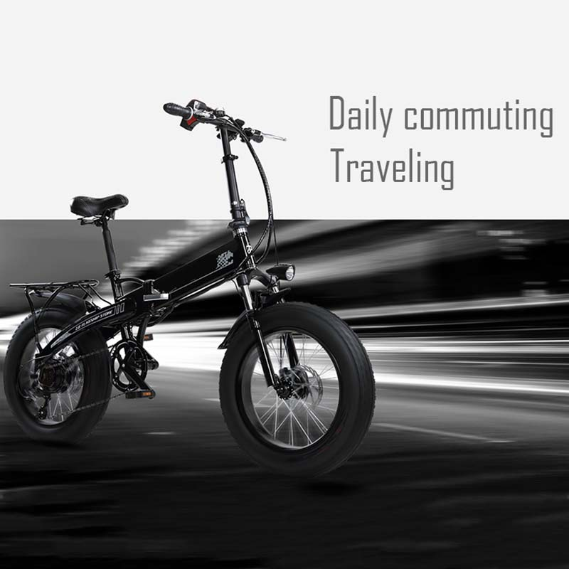 Giantplus-New Electric Bike, Bm3 The Snow Commuting Electric Bike For Adults-26