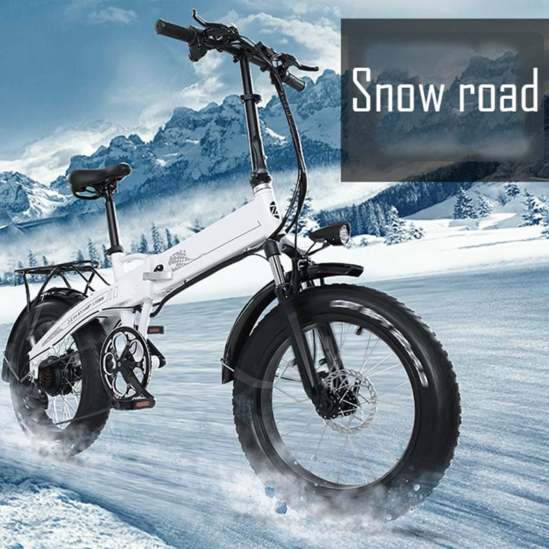 Giantplus-New Electric Bike, Bm3 The Snow Commuting Electric Bike For Adults-27
