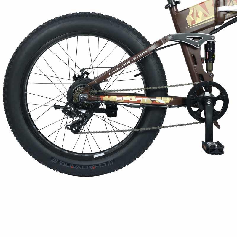 Lithium battery power BM5 the all terrain electric bike