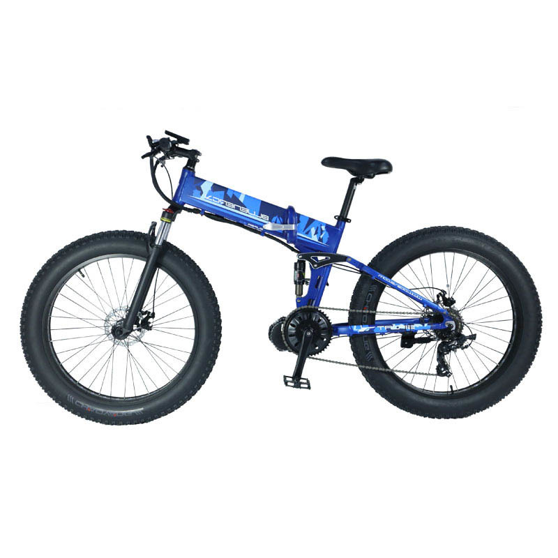 BM6 The mid drive electric mountain bike