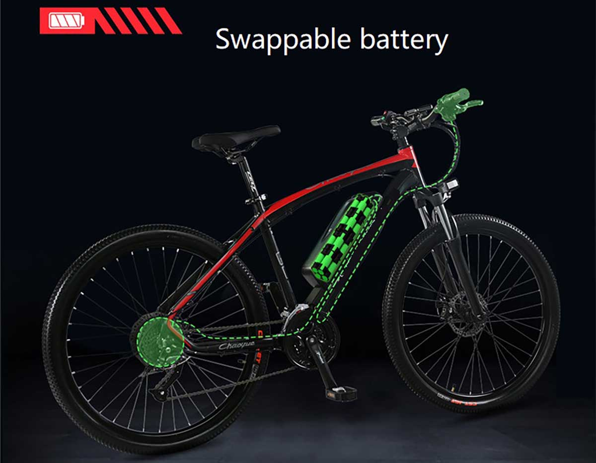 Giantplus-Best BM7 The swappable battery electric bike For Sale From Giantplus-1