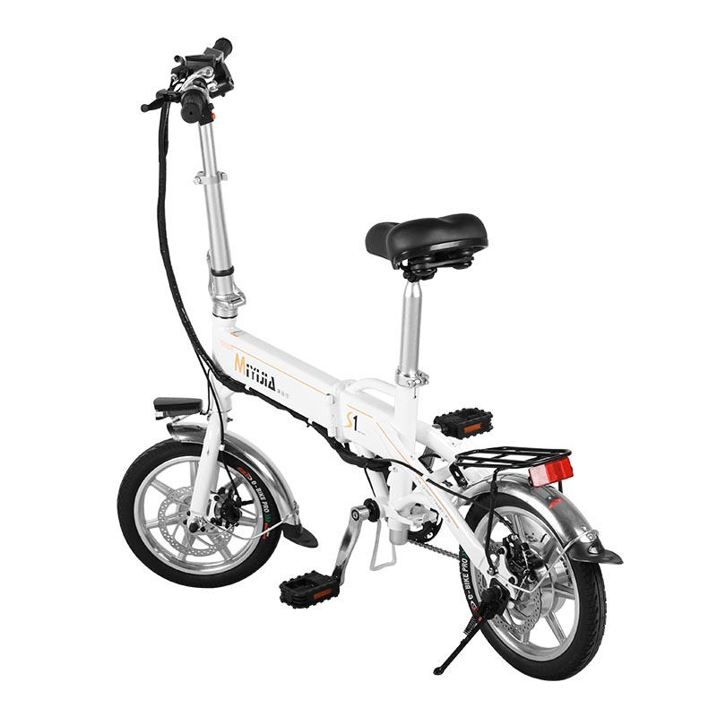 Giantplus-Gs1 The Mini Electric Folding Bike | Best Electric Bicycle Company-1
