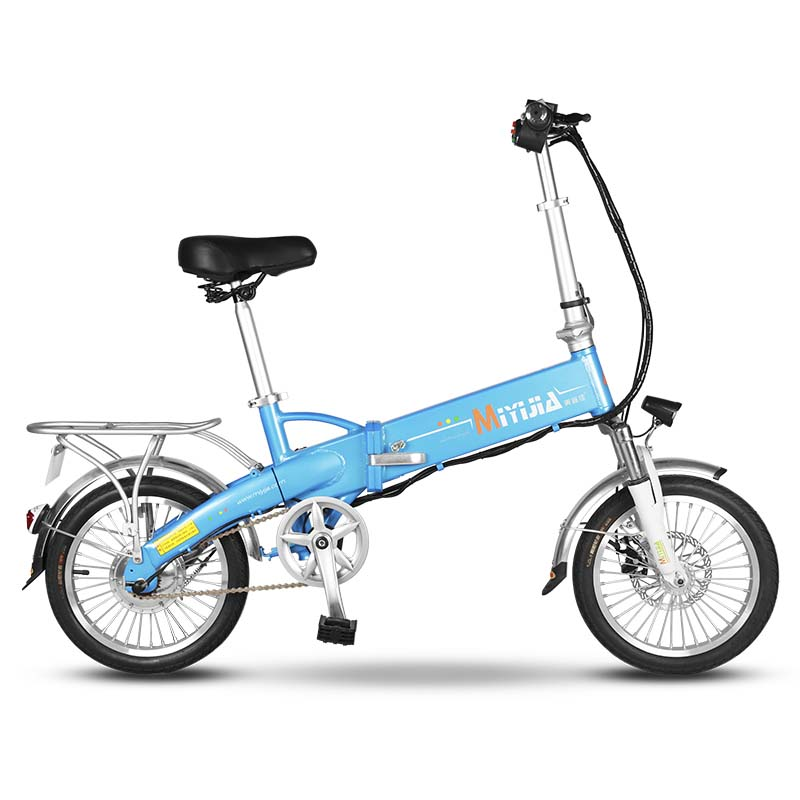 Giantplus-Electric Bicycle Price, Blue Gs2 Electric Bike For Women-2