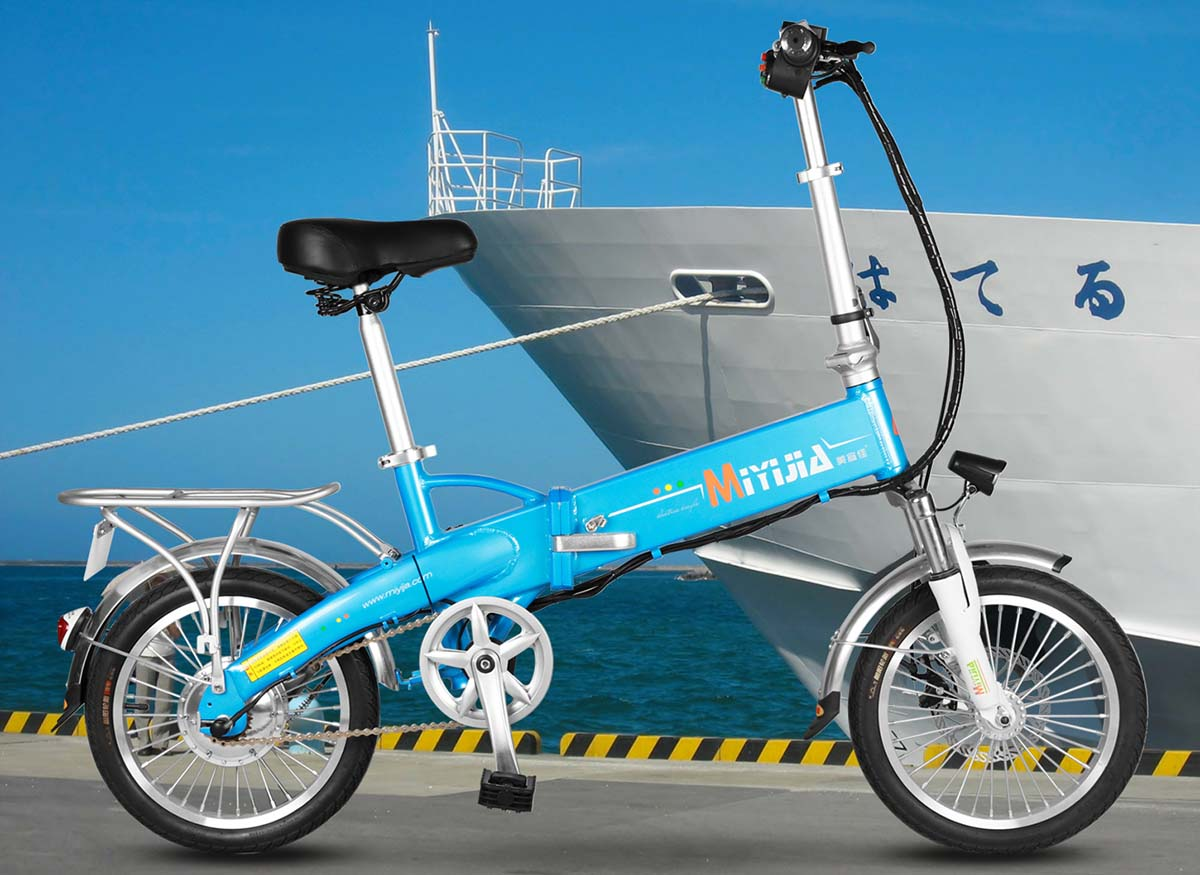 Giantplus-Blue Gs2 Electric Bike For Women | Electric Bike For Sale Factory