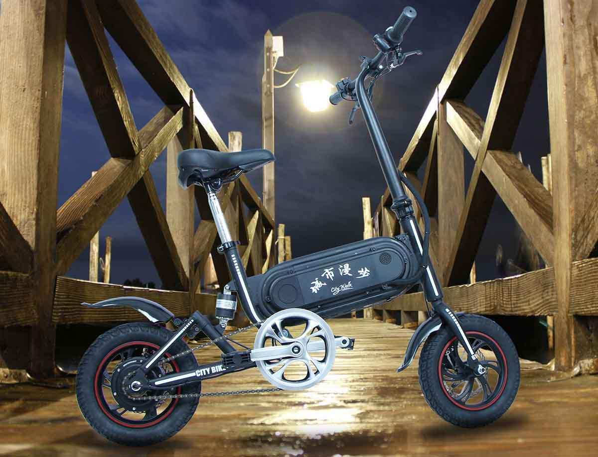 Giantplus-Folding Electric Bicycle | Best Gs3 Mini Commuting Electric Bike