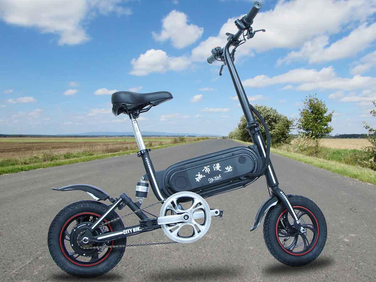 Giantplus-Folding Electric Bicycle | Best Gs3 Mini Commuting Electric Bike-1
