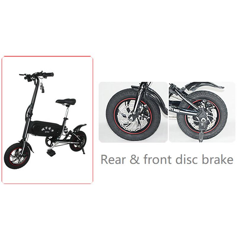 Giantplus-Folding Electric Bicycle | Best Gs3 Mini Commuting Electric Bike-12