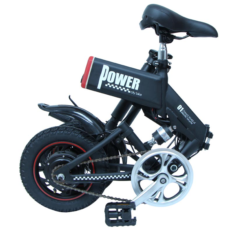 Giantplus-Find Electric Bicycle For Sale Gs6 Mini Black Foldable Electric Bike-2