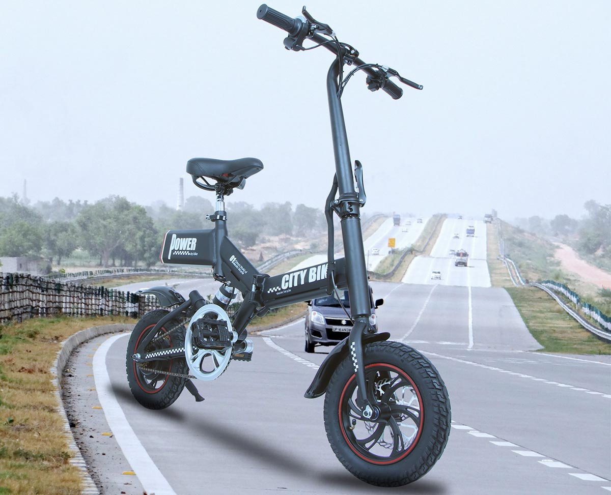 Giantplus-Find GS6 mini black foldable electric bike On Giantplus-1