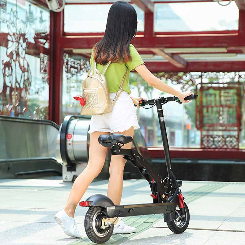 Giantplus-Fast Electric Scooter | T8 Sitting Folding Electric Scooter For Sale - Giantplus-11