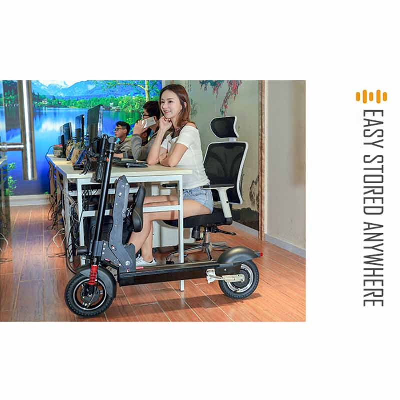 Giantplus-Fast Electric Scooter | T8 Sitting Folding Electric Scooter For Sale - Giantplus-15