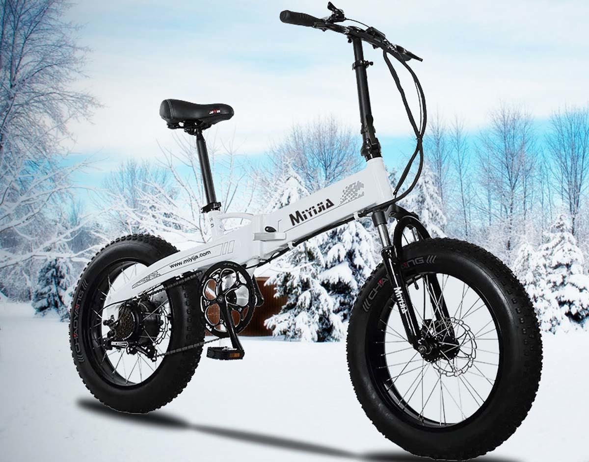 Giantplus-New Electric Bike, Bm3 The Snow Commuting Electric Bike For Adults-1