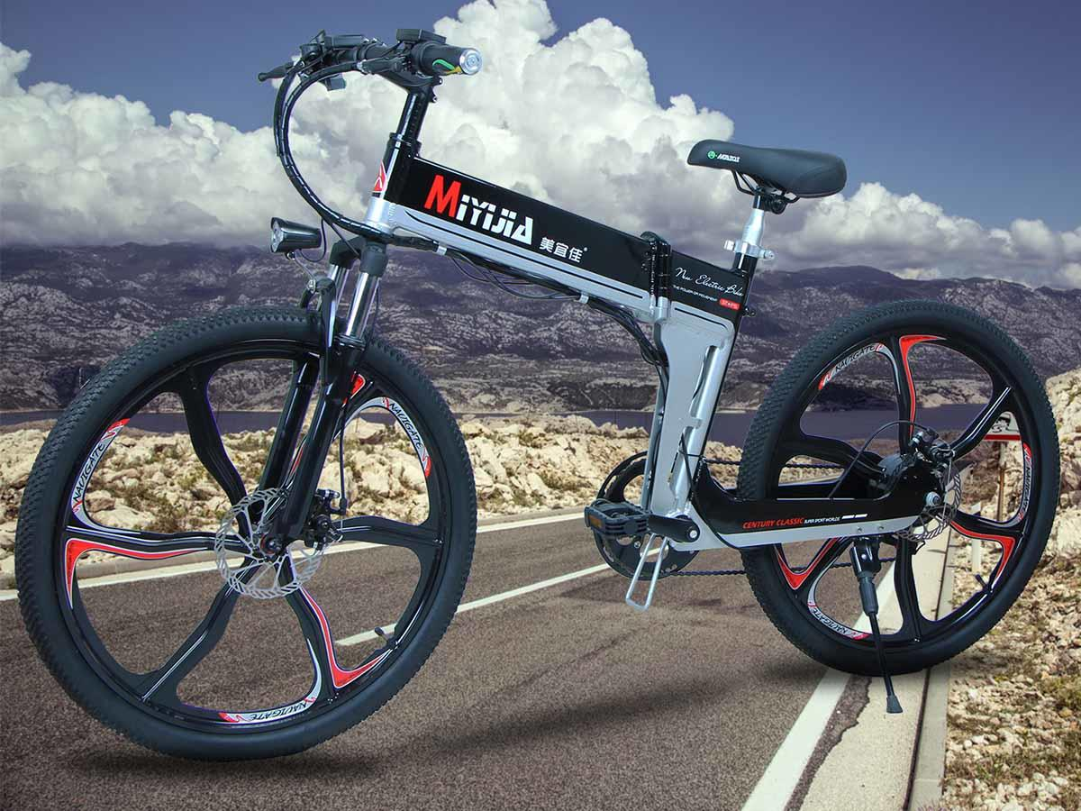 Giantplus-Electric Bicycles For Sale, Latest Bm4 The Coolest Electric Mountain Bike-1