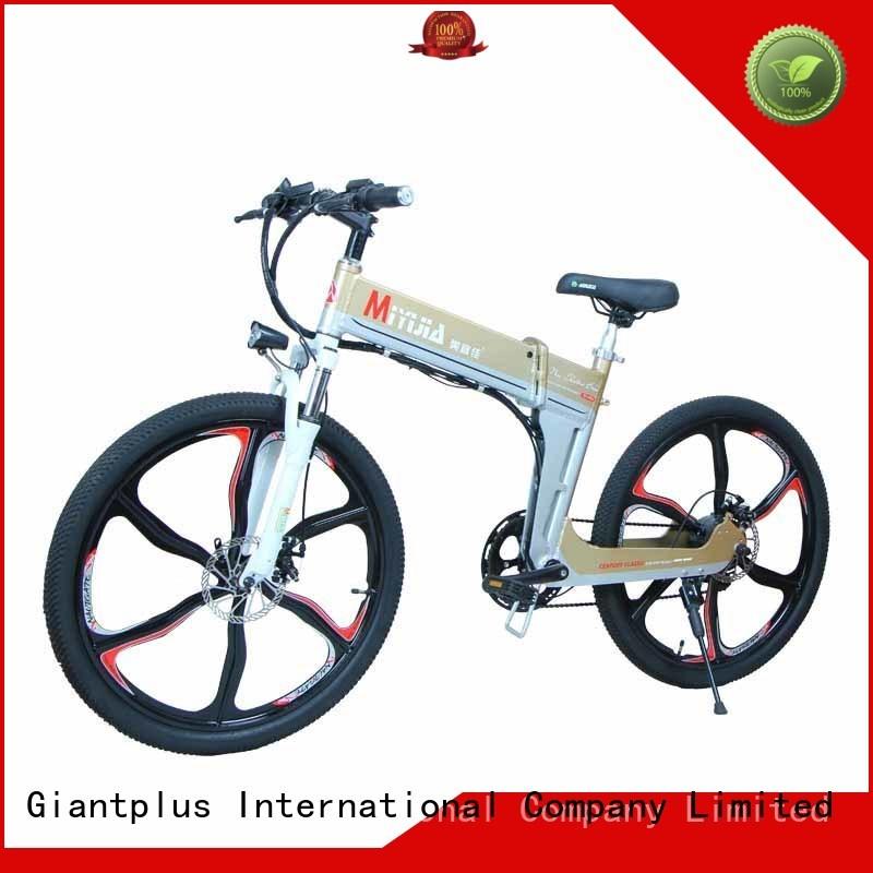 Custom black mini wholesale e bikes Giantplus town
