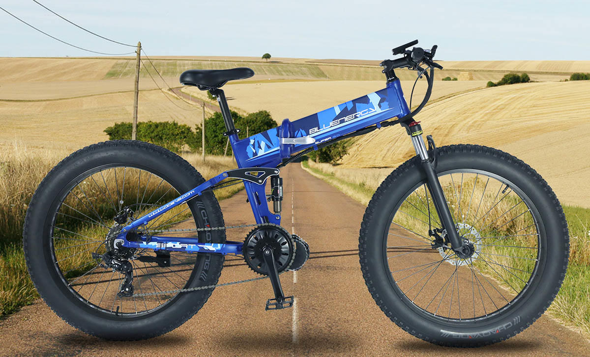 Giantplus-Bm6 The Mid Drive Electric Mountain Bike | Electric Bike Cost Factory-1