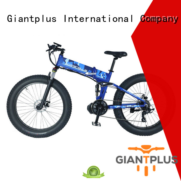 coolest women electric bike distributors blue electric Giantplus Brand