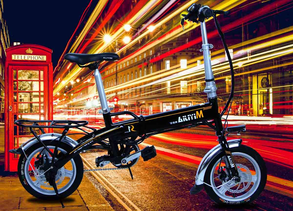 Giantplus-High-quality Fast Electric Bikes For Sale | Gs1 The Mini Electric Folding Bike-1
