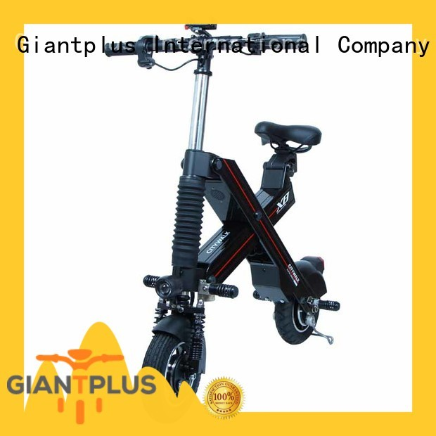 Giantplus folding two wheel electric scooter supplier for high speed