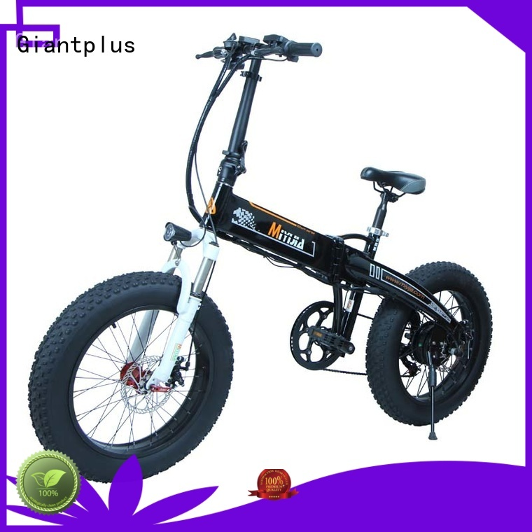 lithium all electric bike distributors foldable magnesium Giantplus Brand